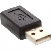 InLine Adattatore USB 2.0 Type-A maschio a Mini USB 2.0 Type-B femmina