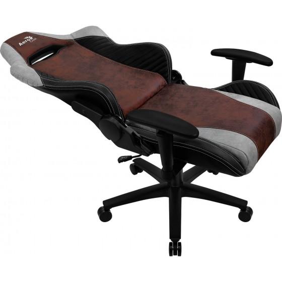 Aerocool Baron Nobility Series Aerosuede Premium Gaming Chair - Burgundy Red