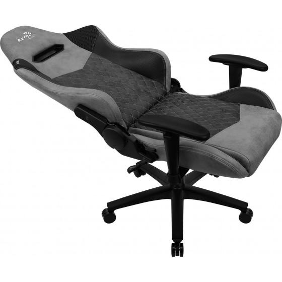 Aerocool Duke Nobility Series Aerosuede Premium Gaming Chair - Ash Black