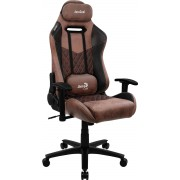 AEROCOOL DUKE PUNCH RED AEROSUEDE PREMIUM GAMING CHAIR, LEATHERETTE, CARBON FIBER, ERGONOMIC CUSHIONS