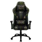 THUNDERX3 BC3 CAMO MILITARY PREMIUM GAMING CHAIR, X2 CUSHION, AIR-TECH