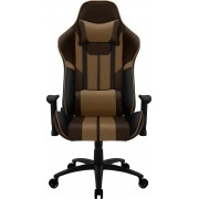 THUNDERX3 BC3 BOSS CHOCOLATE BROWN PREMIUM STYLE GAMING CHAIR, X2 CUSHION, AIR-TECH