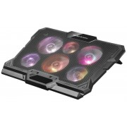Mars Gaming MNBC4 Notebook Cooler - 6 Ventole RGB Flow
