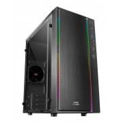 Mars Gaming MCM Compact Case Micro ATX - Black