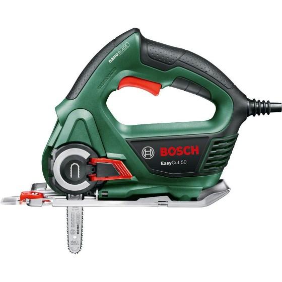 Bosch Easycut 50 - Sega elettrica da 500 Watt, Tecnologia Nanoblade