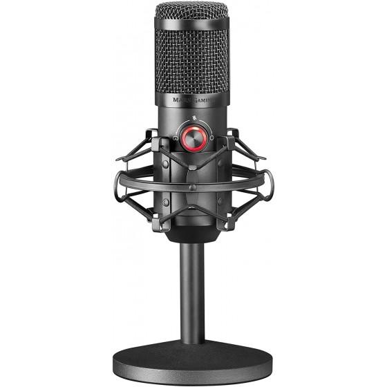 Mars Gaming MMICKIT - Microfono Professionale +6 Accessori, Cavo XLR a Jack 3.5mm, 130dB