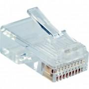 InLine Plug Modulare, telefonico, ISDN a crimpare su cavo piatto, RJ50 (10P10C), 10pz