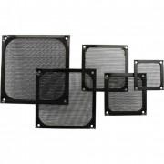 InLine Griglia ventola con filtro in alluminio, 92x92mm, nera