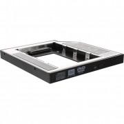 """InLine adattatore montaggio HDD/SSD 2,5"""" nello Slot unità ottica del Notebook, interfaccia SATA"""