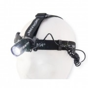 Torcia frontale LED, 1x 3W, super chiara, IP54, raggio 100m (Headlight HD5 Ansmann 5819083)