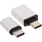 InLine Adattatore USB 3.1 OTG Typ C maschio a Micro-USB 2.0 o a USB 3.0 A femmina (set)