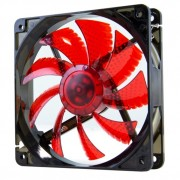 NOX CoolFan Ventola da 12cm a Led Red