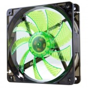 NOX CoolFan Ventola da 12cm a Led Green
