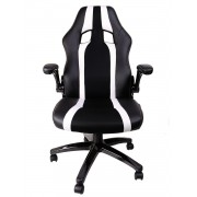 Mars Gaming Gaming Chair 2 Sedia Gaming MGC2BW colorazione Deep Black and White