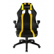 Mars Gaming Gaming Chair 2 Sedia Gaming MGC2BY colorazione Deep Black and Yellow
