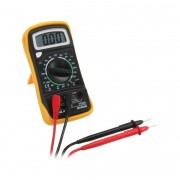 InLine Multimetro digitale 3-in-1 con misuratore di transistor e sonda temperatura