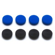 Snakebyte Control Caps per PS4  ( 4x Black 4 x Blue )