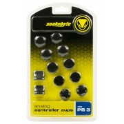 Snakebyte Cups per Controller Wireless PS3 10 pezzi Black