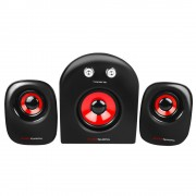 Mars Gaming Speakers MS2 Black Red