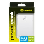 Snakebyte Power Pack per Gamepad Wii U - White