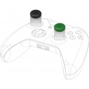 Snakebyte Control Caps per Xbox One (4x Black 4x Green)