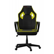 Mars Gaming Gaming Chair Sedia Gaming MGC0BY colorazione Deep Black and Yellow
