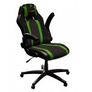Mars Gaming Gaming Chair 2 Sedia Gaming MGC2BG colorazione Deep Black and Green