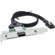 InLine Adattatore SAS su staffa PCI/Slot Centr.