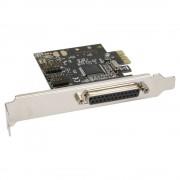 InLine Scheda seriale e parallela aggiuntiva, I/0-Controller, PCIe ( PCI-Express ), 2x Sud-D 9pin maschio, 1x Sud-D 25pin femmin