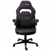 Mars Gaming Chair Sedia Gaming MGC117BP colorazione Black Purple