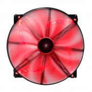 Aerocool Lightning Ventola da 200mm Red Led Edition - Bulk