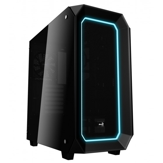 Aerocool Case P7-C0 Middle Tower ATX Black