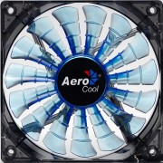 Aerocool Shark Ventola da 140mm a 1500giri Blue Edition - BULK