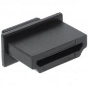 InLine Tappo di chiusura antipolvere protezione porte HDMI, nero, 10pz