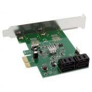 InLine Scheda controller SATA 6Gb/s, 4x SATA, x1 PCI-Express 2.0