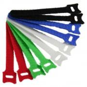 InLine Fascette velcro per chiusure a strappo 12x240mm, vari colori, 10pz