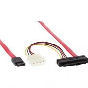 """InLine Cavo da Controller SAS SFF-8482 maschio 29pin +5,25"""" alimentazione a 1xHDD SATA L-Form 7pin (single Targe), configurazion"""
