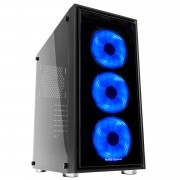 Mars Gaming MC7 Case Middle Tower ATX RGB - Tempered Glass