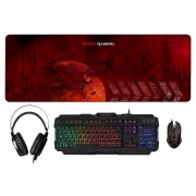 Mars Gaming MCPRGB Pro Combo Pack 4 in 1 RGB Inside
