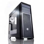 NOX Hummer ZX Case Middle Tower Full Black con finetra e USB 3.0