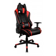 *Aerocool AC220BR Sedia Gaming Professionale Colorazione Black Red