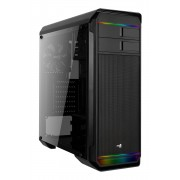 Aerocool Aero 500 RGB Case Middle Tower Black Window