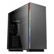 Aerocool GLO Case Middle Tower Tempered Glass Panel RGB Light