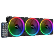 Aerocool Orbit RC  Ventole da 120mm LED RGB - 3pz