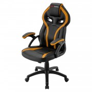 Mars Gaming MGC118BY Professional Gaming Chair Colorazione Black Yellow
