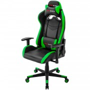 Mars Gaming MGC3BG Professional Gaming Chair Colorazione Black Green