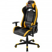 Mars Gaming MGC3BY Professional Gaming Chair Colorazione Black Yellow