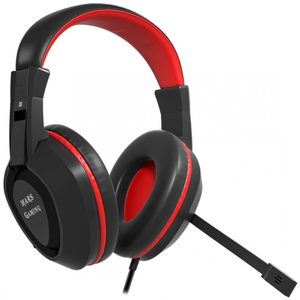 Mars Gaming MAH1V2 Headset Surround System 7.1 vendita online Mars ... e48a33b1e330