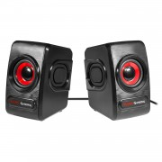 Mars Gaming MRS0 Speakers USB, 10W