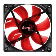 Aerocool Lightning Ventola da 120mm A Led Red